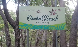 Orchid Beach township