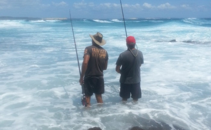 waddy poit rock fishing - Fraser island