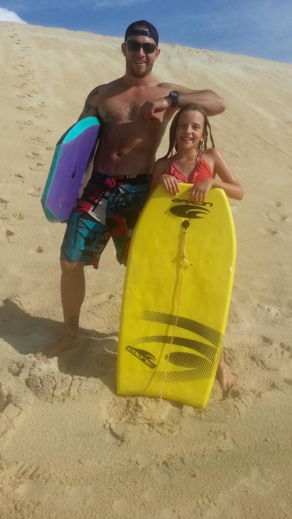 Sand boarding adventures