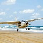 Fraser aircraft landing