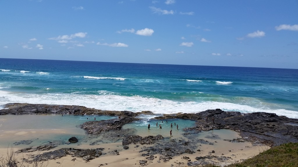 The Champagne pools