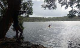 Kayaking at Ocean Lake