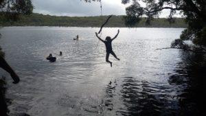 swing at Ocean Lake