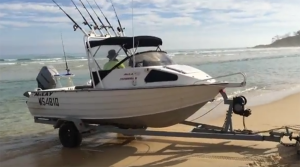 fraser island boating and fishing