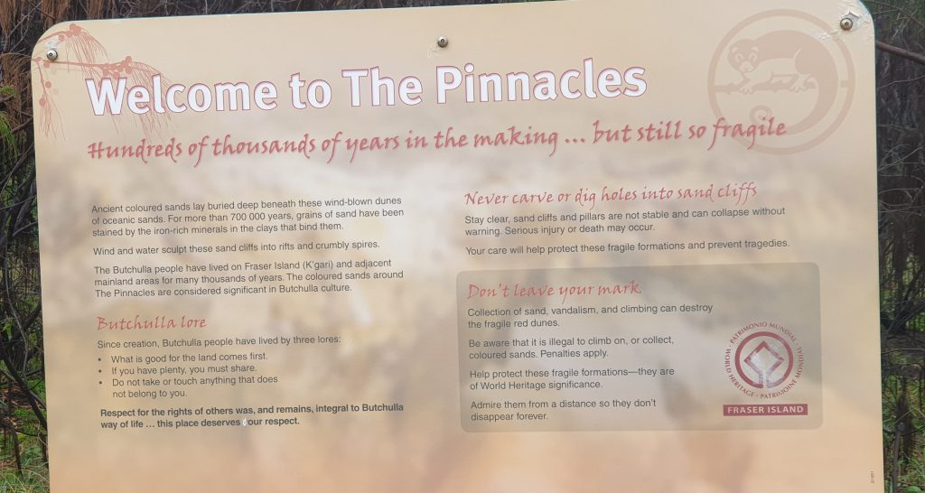 Welcome to the Pinnacles - Seven Hundred Thousand years in the making