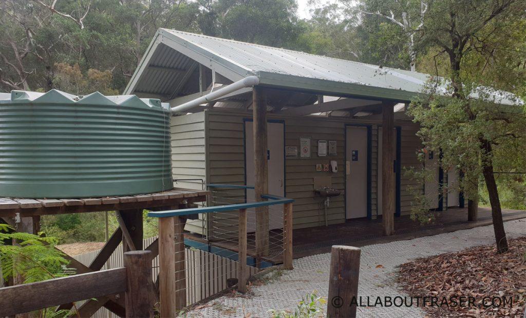 Facilities at lake birrabeen